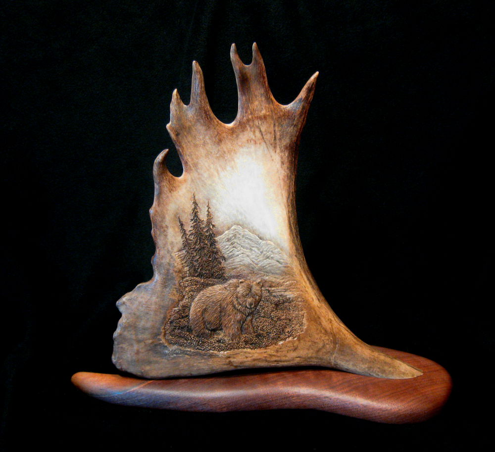 Antler Carvings by Ben Firth